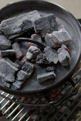 20090531ローストチキン上蓋炭