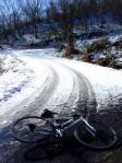 20081220信濃平ヒルクライム雪5.3km地点