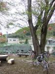 20090426西大滝ダム自転車