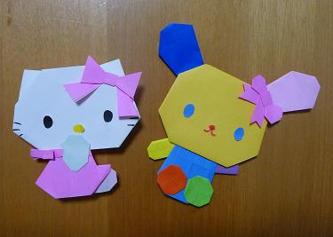 ハート 折り紙 折り紙でキャラクター : eigaflex.com