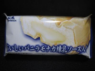 おいしいバニラモナカ練乳ソース入り