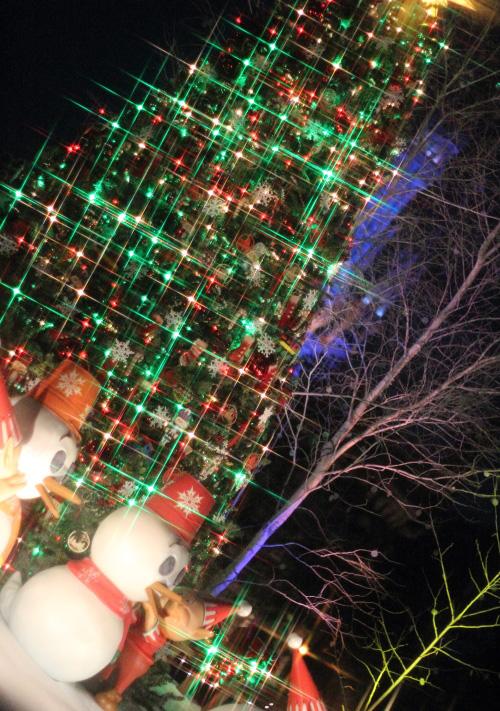クロスフィルターで撮ったクリスマスの風景☆4