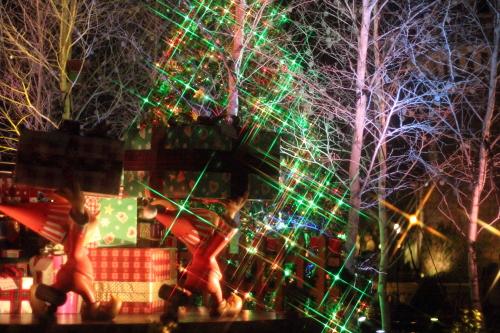 クロスフィルターで撮ったクリスマスの風景☆5