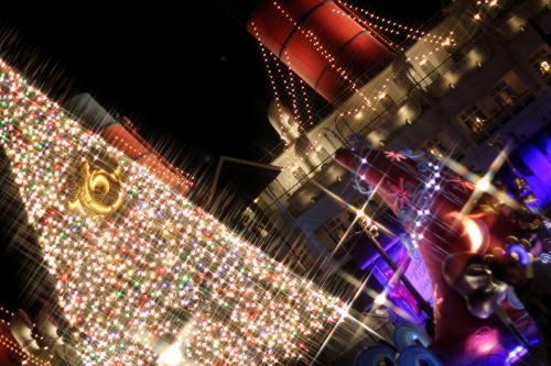 クロスフィルターで撮ったクリスマスの風景☆12