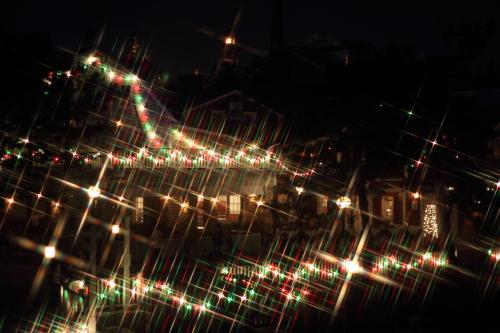 クロスフィルターで撮ったクリスマスの風景☆14