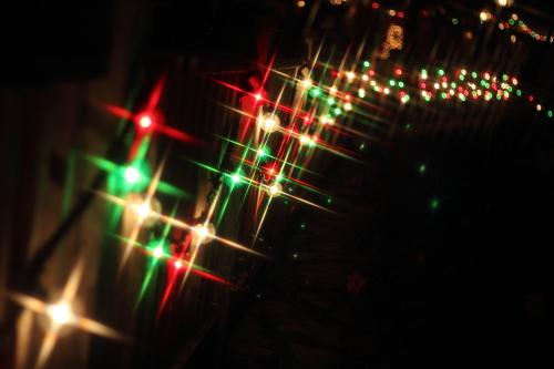 クロスフィルターで撮ったクリスマスの風景☆15