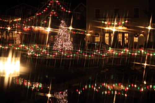 クロスフィルターで撮ったクリスマスの風景☆17