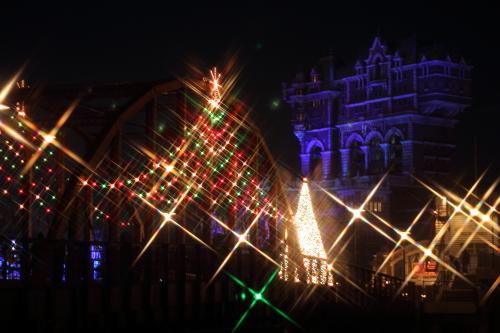 クロスフィルターで撮ったクリスマスの風景☆18