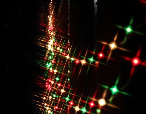 クロスフィルターで撮ったクリスマスの風景☆19