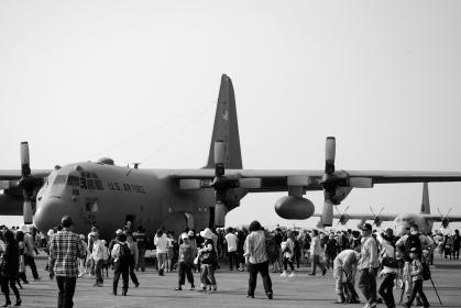 米軍基地 航空ショー 1