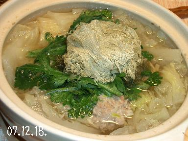 肉団子鍋。