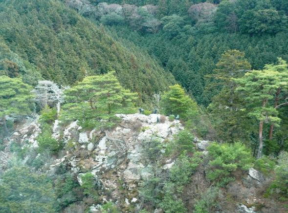 別の場所には弘法大師空海の像もありました