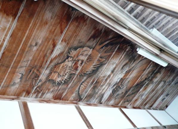 持仏堂の天井画