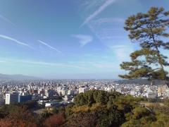 松山城眺望