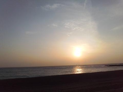0119和歌山夕陽