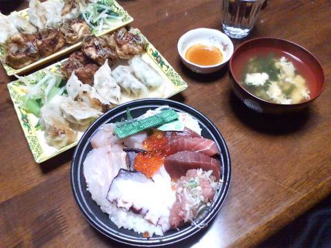 091030終了夕食