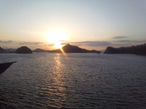 100109夕陽