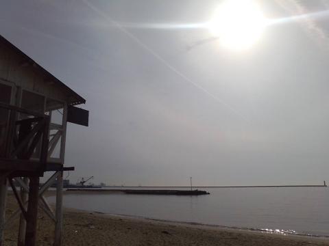 100222浜辺
