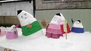 雪だるま小法師
