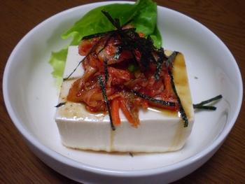 キムチ豆腐0324