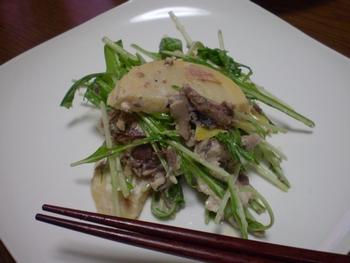 筍のサラダ