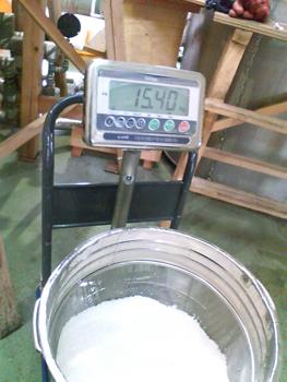 汲水後重量