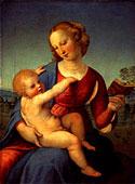 ラファエロ「聖母子」