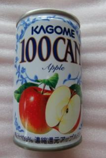 KAGOME 100CAN Apple
