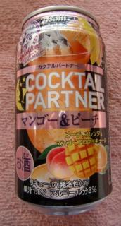 カクテルパートナー[マンゴ&ピーチ](Asahi)