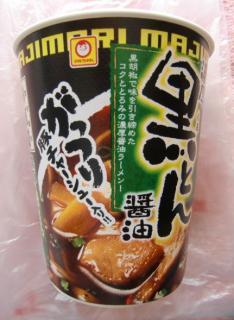 濃厚黒とん醤油(マルちゃん)