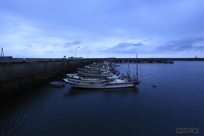 いつもの漁港でいつも撮るように