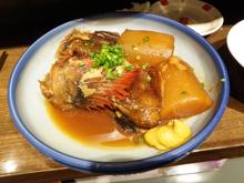 アイナメの煮付け、最!高もう日本最高。帰ってきて良かったw