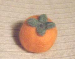 秋の果物(柿)