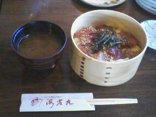 マグロ手こね寿司