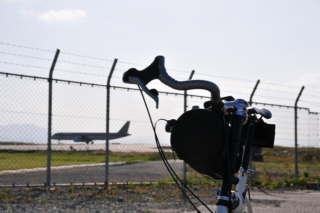 Asiana航空便離陸前