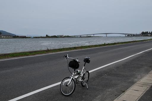 中海大橋が見える
