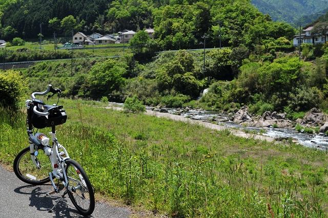 再び日野川沿い