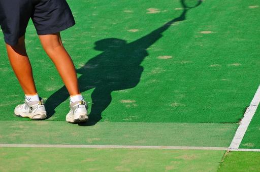 早めに終わったテニス大会