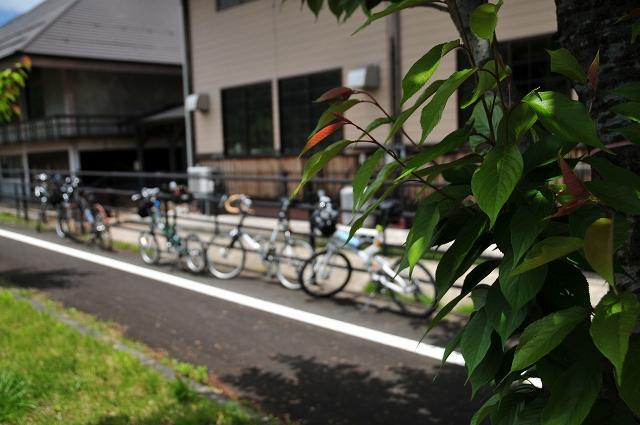 自転車軍団休憩中