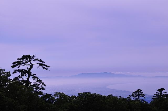 暮れの雲海