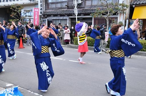 鬼太郎音頭保存会の踊り