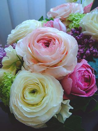 結婚式花かご