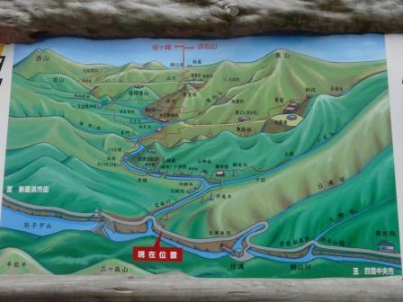 旧別子銅山案内図