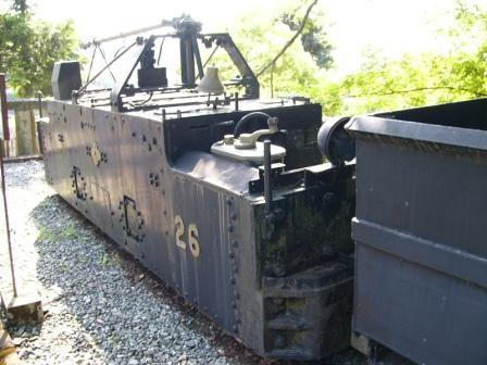 坑内牽引6トン トロリー電車