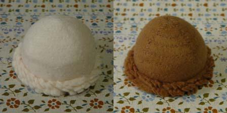 ボールアイス バニラ & カフェ