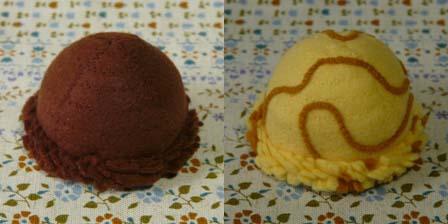 ボールアイス チョコ & キャラメル