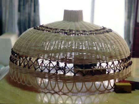籐手芸 ランプシェード 1