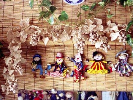 籐手芸 ぶどうの壁飾り