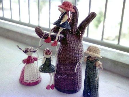 籐手芸 メルヘン人形