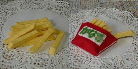 ハンバーガーセット ストレートポテト